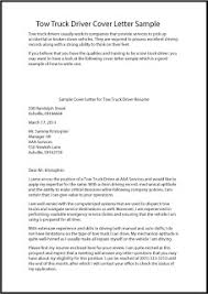 Cover Letters Samples For Resumes by Truck Driver Application Letter Sample