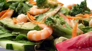 premium cuisine free photo shrimp premium salad food plate free image on
