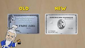 Business Platinum Card Amex Amex Starts Issuing Metal Business Platinum Cards The Credit