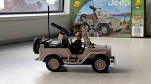army jeep drawing cobi jeep willys mb with minigun youtube