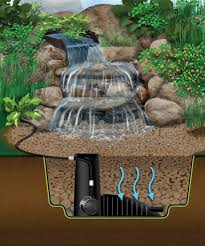 home accessories aquascape designs pondless waterfall with stone
