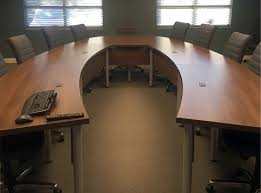 Conference Table With Chairs Project U Shaped Conference Table With Leather Conference Chairs