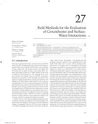 frederick fritz anding 07 27 comparison of metals between groundwater surface water and in
