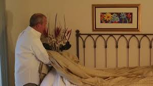 How To Put A Duvet Cover On A Down Comforter Putting A Duvet Cover On A Down Comforter Www Verolinens Com Youtube