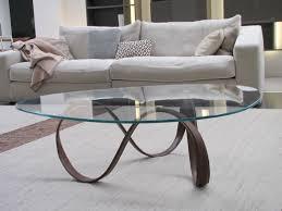 Glass Table For Living Room Circle Glass Coffee Table Writehookstudio