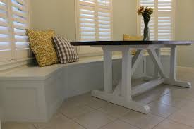Cozy Height Of Banquette Seating How To Build Banquette Bench Seating U2013 Gadgets And Grain