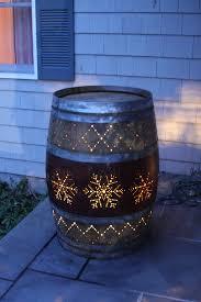 wine barrel porch light for sale 19 creative uses for old wine barrels outdoors barrels porch and