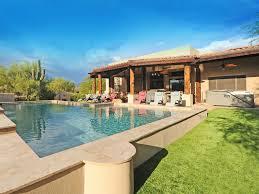 Backyard Hibachi Grill by North Scottsdale Estate Views Heated Po Vrbo