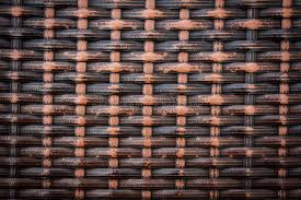 texture of rattan wall thai style stock image image