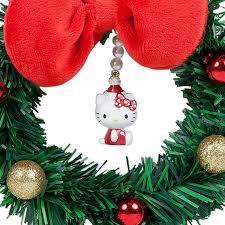 kitty christmas mini wreath ribbon sanrio japan japan box