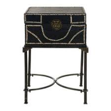 redford trunk bedside table houzz