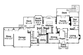floor colonial home floor plans