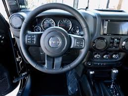 jeep custom console 2017 jeep wrangler unlimited custom lifted 4x4 winch cargo net 2
