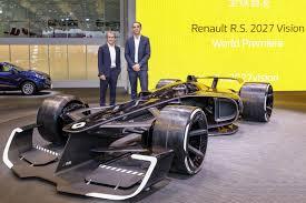 renault f1 concept f1 alain prost dit ce quil pense du concept renault rs 2027 vision