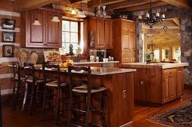 small rustic cabin kitchens best small rustic kitchen designs