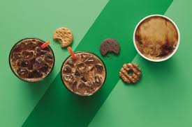 Coffee Dunkin Donut thin mints coffee is now a thing at dunkin donuts cmo strategy