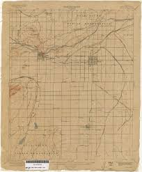 mesa az map arizona historical topographic maps perry castañeda map