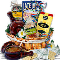 soup and salad gift basket the bowls auction baskets and