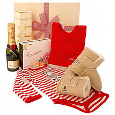 buy congratulations baby hampers online first class hampers