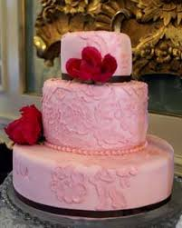 dreamy pink wedding cake designs