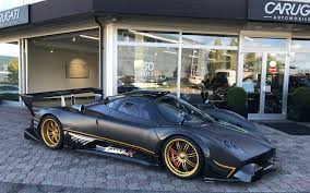 pagani zonda gold pagani for sale classic driver