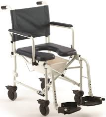 invacare 6891 mariner rehab commode shower chair with 5 casters