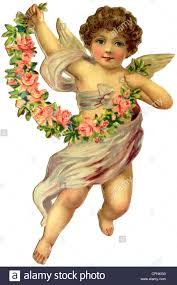 christmas angel christmas christmas angel lithograph germany 1908