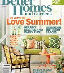 Best Home Interior Design Magazines by Better Homes And Gardens Interior Designer Of Well T In Decorating