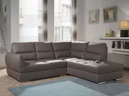 canapé d angle contemporain canapé d angle contemporain en pu taupe brownie canapé d angle