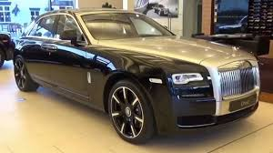 rolls royce ghost interior 2015 rolls royce ghost series ii diamond black youtube