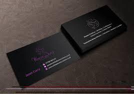 Wedding Planning Companies Elegant Upmarket Business Card Design For Johnson Gardening