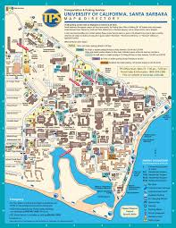 Uh Campus Map Ucsb Campus Map Santa Barbara Trip Pinterest Campus Map And