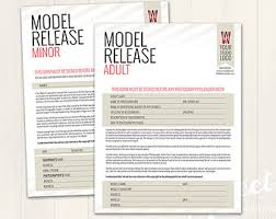 model release form template free model release form template