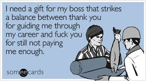 i need a gift for my boss that strikes a balance between thank you
