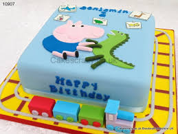 George Pig Cake Decorations George Pig Bedroom Cake Cakescrazy Bespoke Kids Baby Pre