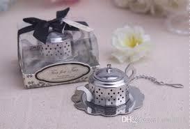 tea favors new arrival wedding favors tea for two teapot tea infuser favors
