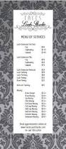 best 25 salon menu ideas on pinterest beauty price list ideas