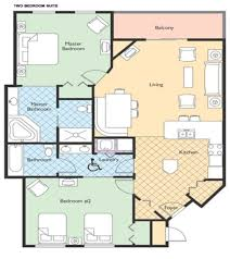 Grand Ole Opry Floor Plan Wyndham Nashville 2 Br Dlx Ii Condominiums For Rent In