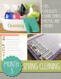 the polka dot posie month 3 spring cleaning