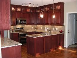 kitchen dark cherry color galley kitchen remodel cherry corner