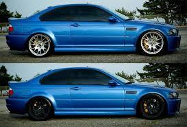 bmw black alloys black alloys on estoril blue m3 the m3cutters uk bmw