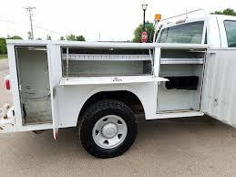 2011 Ford F250 Utility Truck - 2009 ford f250 4x4 regular cab 6 8l v10 gas 8 u0027 service utility