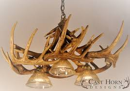 antler lamps lovely adorable white deer horn chandelier and