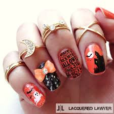 halloween words background lacquered lawyer nail art blog happy halloween