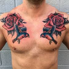 tattoos for men on chest tattoo collections