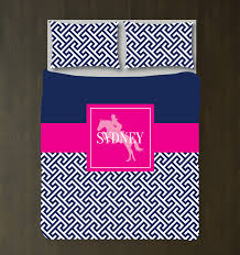 pink and blue girls bedding custom equestrian bedding for girls with preppy cross u2013 shop