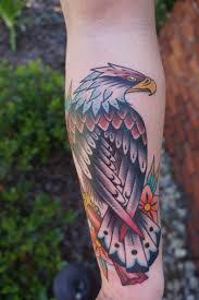 eagle by jason brown blue rose in huntsville al tattoos