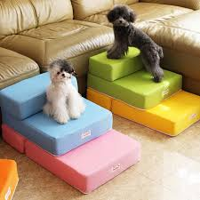 cute home cat dog pet bed stairs ladder foldable dog ramp pet mat