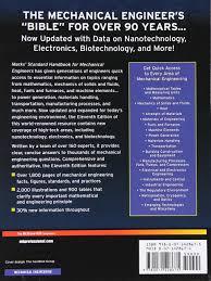 marks u0027 standard handbook for mechanical engineers amazon co uk