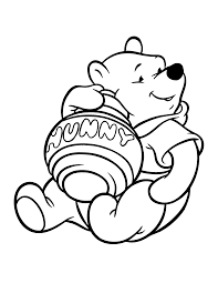 baby winnie pooh coloring pages getcoloringpages